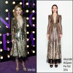 Bella Heathcote  in  Alexander McQueen   at The Neon Demon LA  Premiere