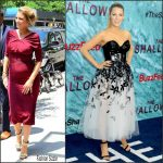 Blake Lively in  Oscar de la Renta & Carolina Herrera Promoting 'The Shallows' in New York