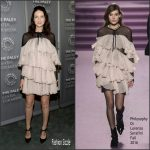 Caitriona Balfe  In  Philosophy di Lorenzo Serafini at Paley Center for Media presents Artistry of 'Outlander'