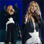 Celine Dion In Givenchy  to kick off her  nine Show Paris Residency