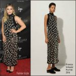 Chloe Moretz in Proenza Schouler at the 2016 Logo Trailblazer Honors