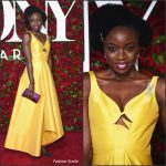 Danai Gurira in Rosie Assoulin at the 70th Annual Tony Awards