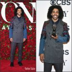 Daveed Diggs in Comme des Garcons at the 70th Annual Tony Awards