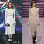 Eleanor Tomlinson in Philosophy di Lorenzo Serafini at The Monte-Carlo 56th Television Festival Photocall