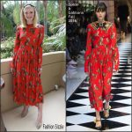 Elle Fanning  in Dolce and Gabbana  at The Neon Demon  Beverly Hills  Photocall