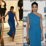 Freida Pinto in Dsquared2 at the Changemarker Honoree Reception