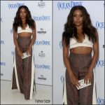 Gabrielle Union in Solace London at her Ocean Drive Magazine May/June Cover Launch