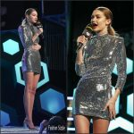 Gigi Hadid In  Alexandre Vauthier   at 2016 iHeartRadio MMVAs