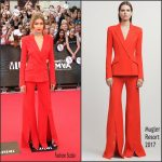Gigi Hadid  in Mugler at  2016 MuchMusic Video Awards