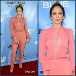 Jennifer Lopez in Elie Saab at the Shades of Blue Television Academy Event