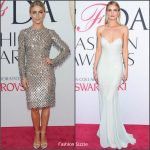 Julianne Hough & Rosie Huntington-Whiteley in Michael Kors at the 2016 CFDA Fashion Awards