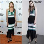 Karlie Kloss in Prabal Gurung at the 'Serena' New York  Premiere