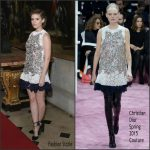 Kate Mara in Christian Dior Couture at the Christian Dior Cruise 2017 Show