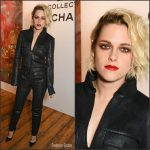Kristen Stewart  In Chanel  at  Chanel's Le Rouge  Makeup Launch