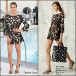 Lea  Michele  in Michael Kors Collection at  Las Vegas For Leading Ladies Celebration