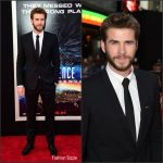 Liam Hemsworth in Dolce and Gabbana  at the 'Independence Day: Resurgence' LA Premiere