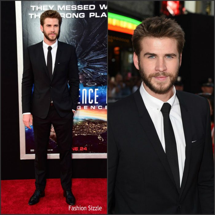 Liam Hemsworth  attends the premiere of 20th Century Fox's' 'Independence Day: Resurgence' at TCL Chinese Theatre on June 20, 2016 in Hollywood, California.