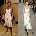 Lupita Nyong'o  in Boss  at Tony Awards  After party