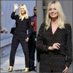 Margot Robbie in Thakoon At  Jimmy Kimmel Live!