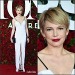 Michelle Williams in Louis Vuitton at the 70th Annual Tony Awards
