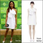 Naomie Harris in Victoria Beckham at The Boodles Tennis Party