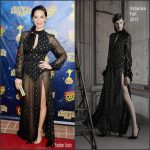Olivia Munn in Vatanika at the 42nd Annual Saturn Awards