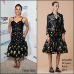 Paula Patton in Alexander McQueen at the 15th Annual Chrysalis Butterfly Ball