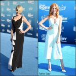 Portia de Rossi,  & Katherine McNamara at the 'Finding Dory' LA World Premiere