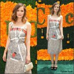 Rose Byrne in Christopher Kane at The Ninth Annual Veuve Clicquot Polo Classic