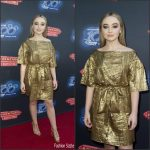 Sabrina Carpenter in Prada at the Adventures In Babysitting Premiere