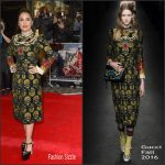 Salma Hayek in Gucci at the 'Tale of Tales' London Premiere