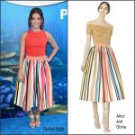 Sarah Hyland in Alice and Olivia  at Finding Dory LA Premiere