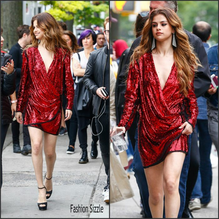 Selena Gomez was spotted out  in New York  on June 3, 2016