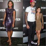 Teyonah Parris & La La Anthony at  'Power' TV Series Season 3 New York Premiere