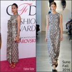 Tracee Ellis Ross in Suno at the 2016 CFDA Fashion Awards