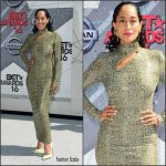 Tracee Ellis Ross in Vintage Thierry Mugler at the 2016 BET Awards