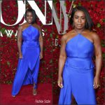 Uzo Aduba in Juan Carlos Obando at the 70th Annual Tony Awards