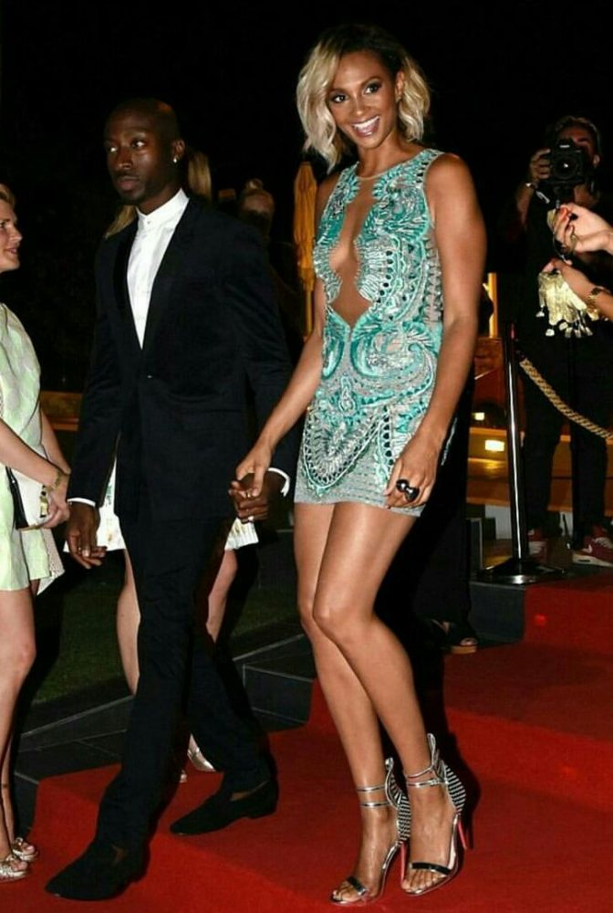 Alesha-Dixon-Global-Gift-Gala-Julien-MacDonald-Sheer-Applique-Mini-Dress-2-672x1000