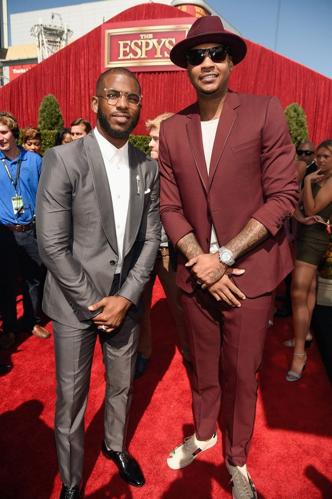 Chris Paul ,Carmelo Anthony,