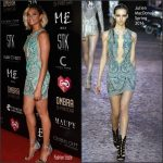 Alesha Dixon  in Julien MacDonald at the Global Gift Gala in Ibiza