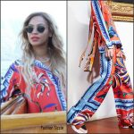 Beyonce in Emilio Pucci  Out In Paris