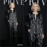 Cate Blanchett in Giorgio Armani at Armani Prive F/W 2016 Haute Couture Paris Fashion Show