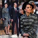 Catherine, Duchess of Cambridge in Missoni at The Somme Centenary Commemorations in France