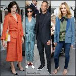 Chanel F/W 2016 Haute Couture Paris Fashion Show Front Row