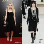 Dakota Fanning  In Chanel  at the Cafe Society New York Premiere