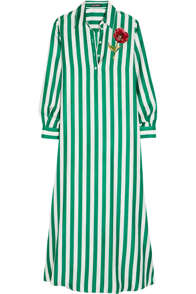 dolce-gabbana-striped-shirt-dress