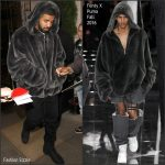 Drake in FENTY X Puma  – Out In London