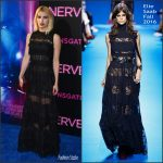 Emma Roberts in Elie Saab at the Nerve New York  Premiere