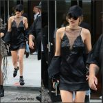 Gigi Hadid in Jitrois slip dress – Out In New York