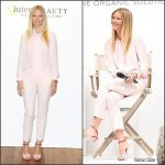 Gwyneth Paltrow in  Michael Kors Collection at Holt Renfrew